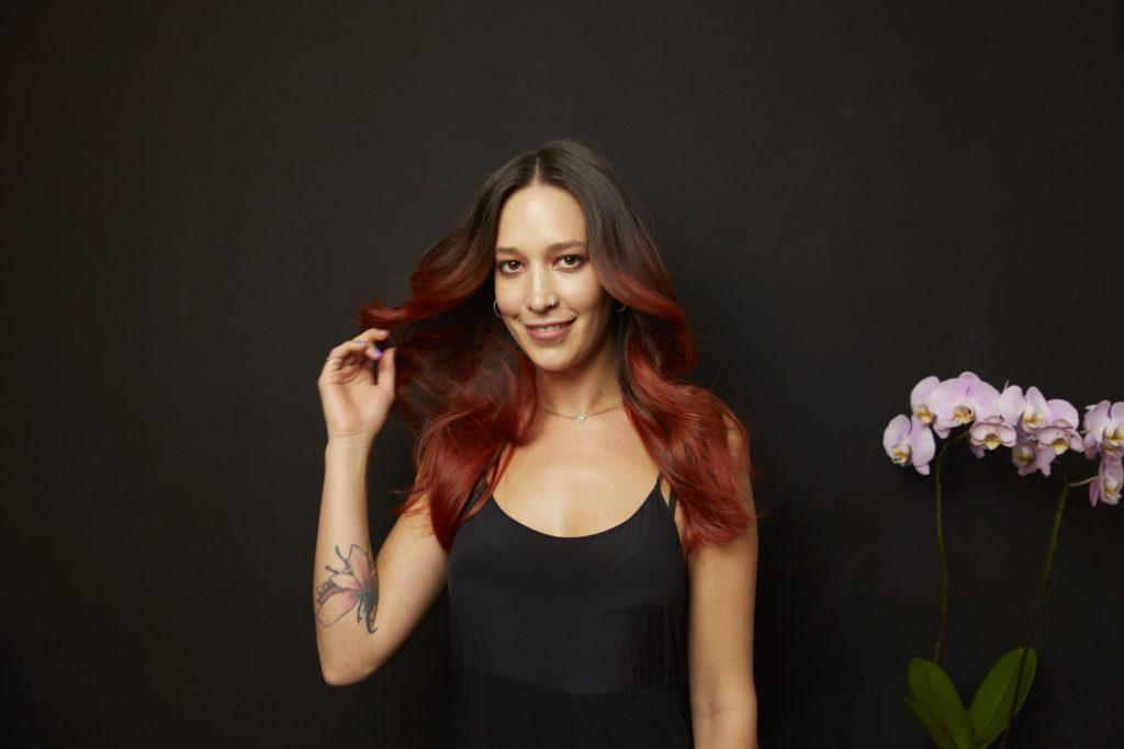 Blorange Hair Adilla Colab